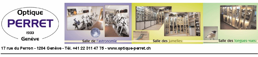 Optique Perret - Centre Télescopes & Jumelles