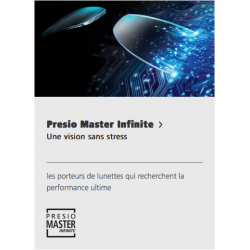 Nikon - Presio Master Infinite - Progressif