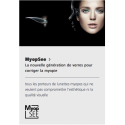 Nikon - MYOPSEE - Unifocal double-asphérique